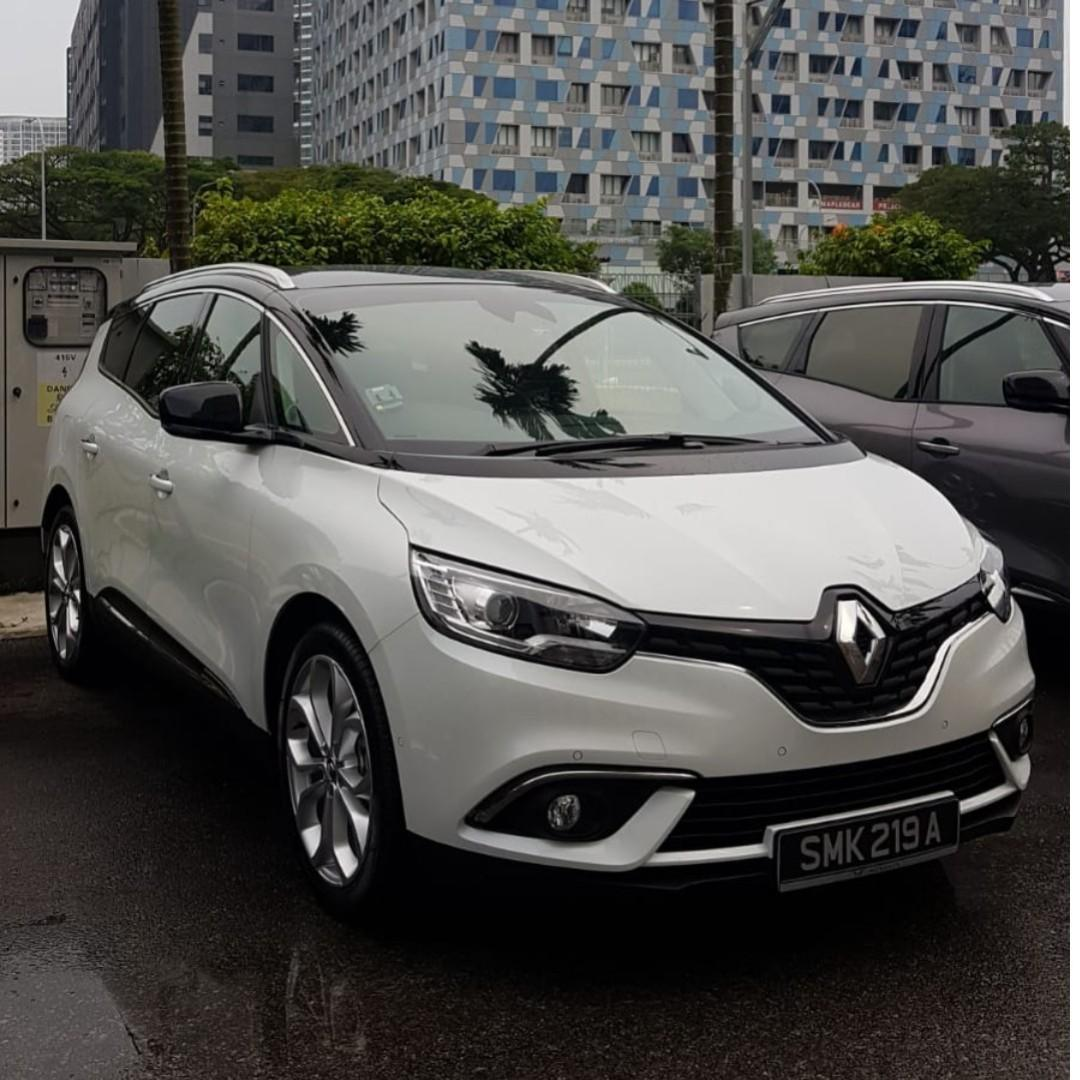 Phv Brand New Renault Grand Scenic Diesel For rent