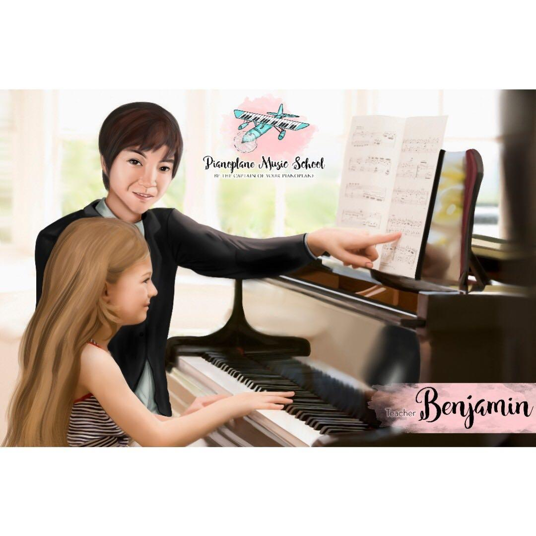 Piano Teacher that sparks imagination and fun!