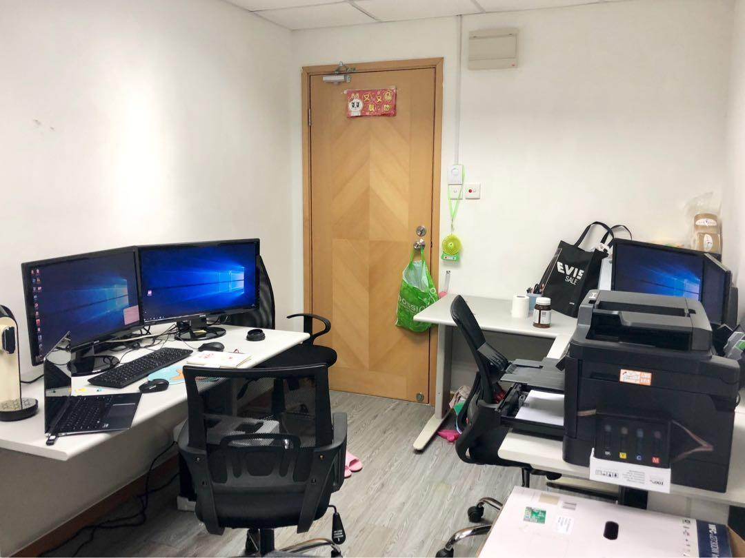 Pre-owned Office Rent for start up