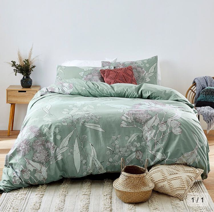 Quilt Cover Set Multiple Sizes Furniture Home Decor Cushions