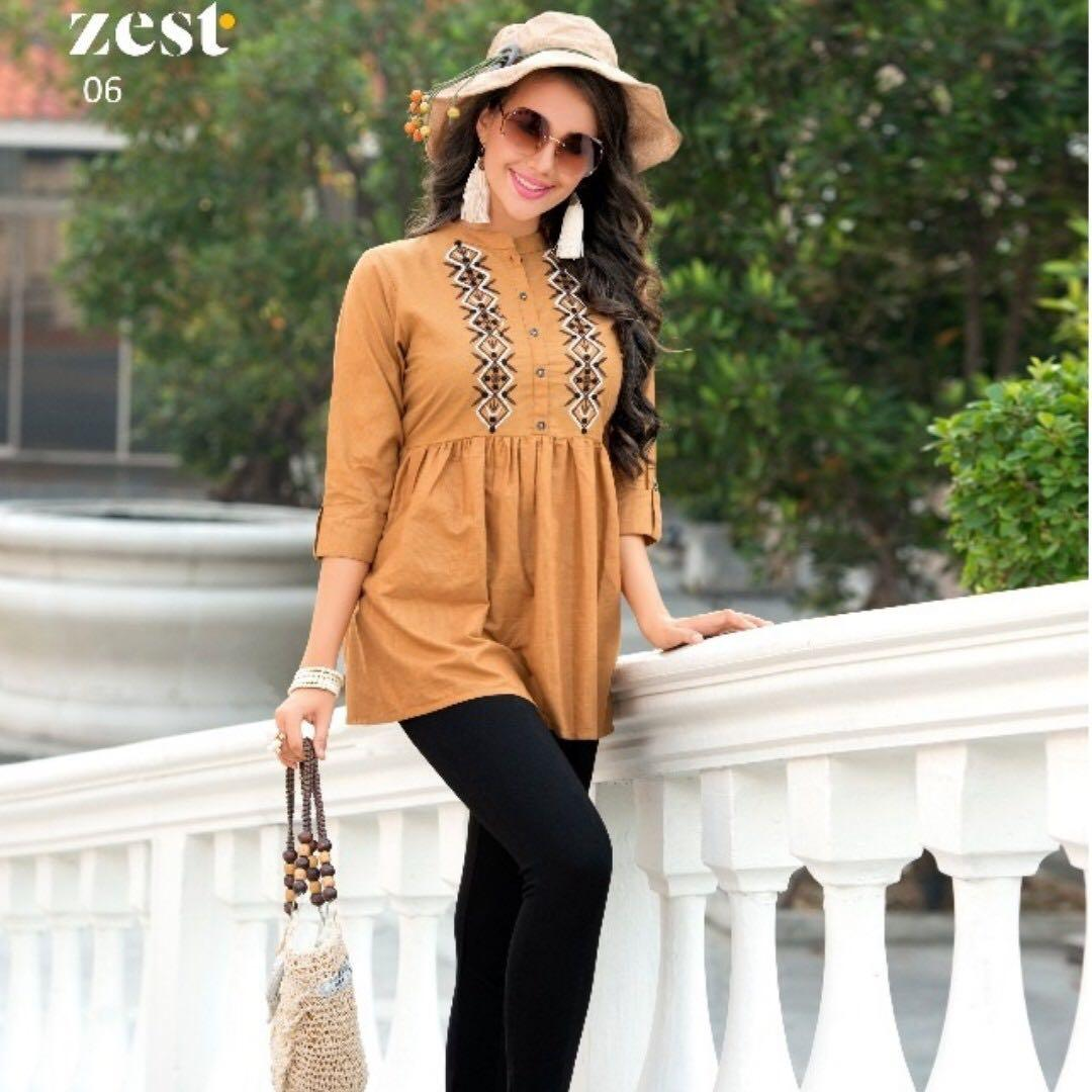 Ready in Stock (Western Tops Blouses Tunics) - Size XXL