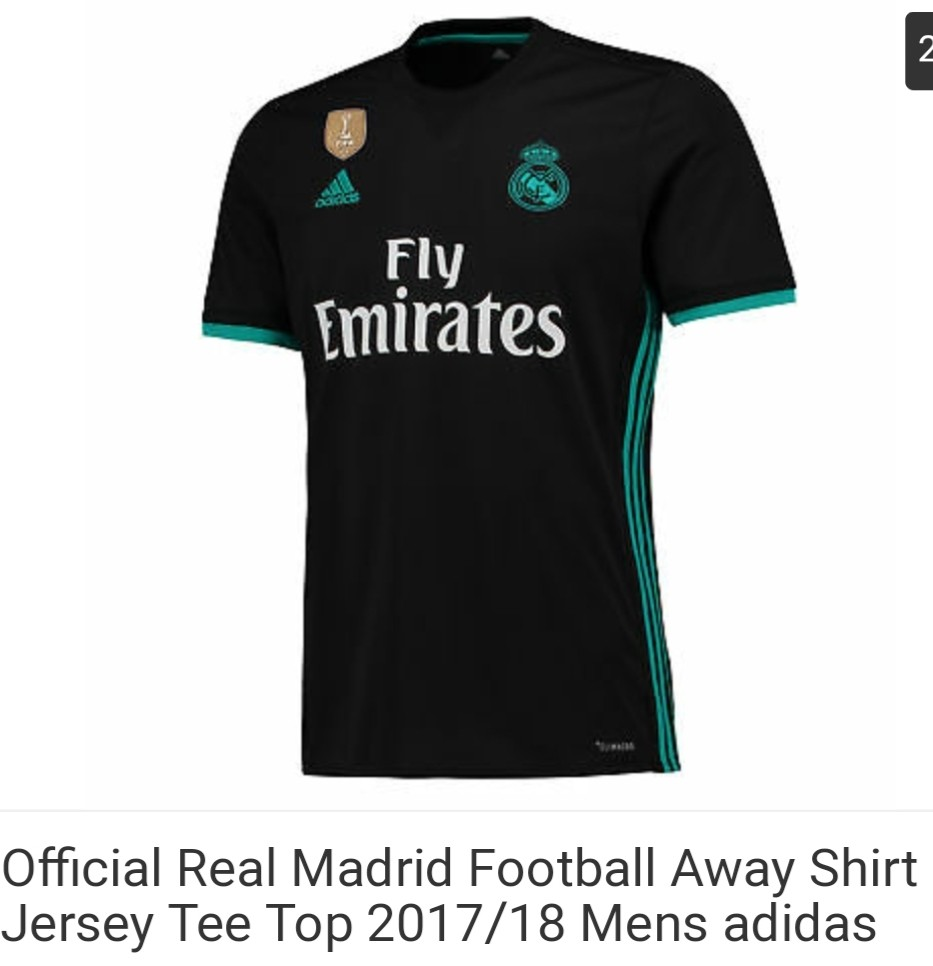 online retailer 1b7b2 f09f8 2-3xl Real Madrid Away M&L 17/18
