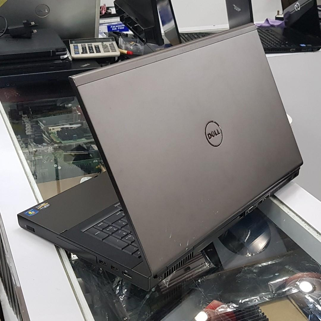 Refurbished Dell Precision M6600 (i7 2nd Gen / 12GB Ram