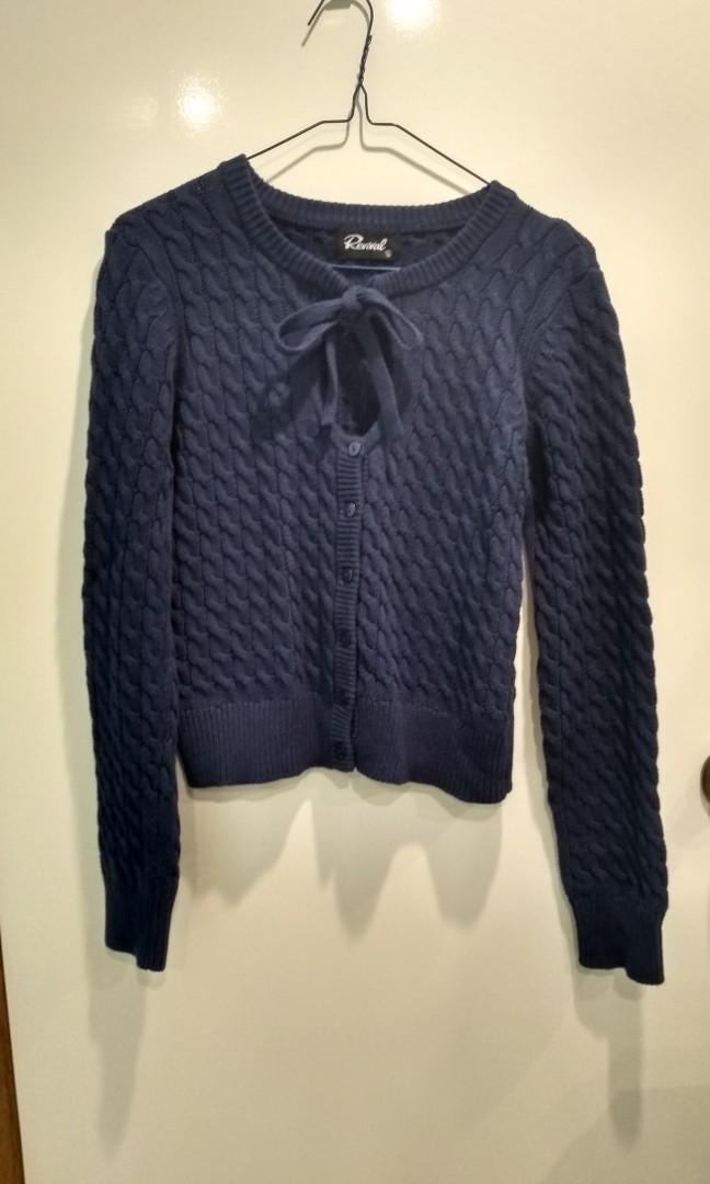 Revival knitted cardigan