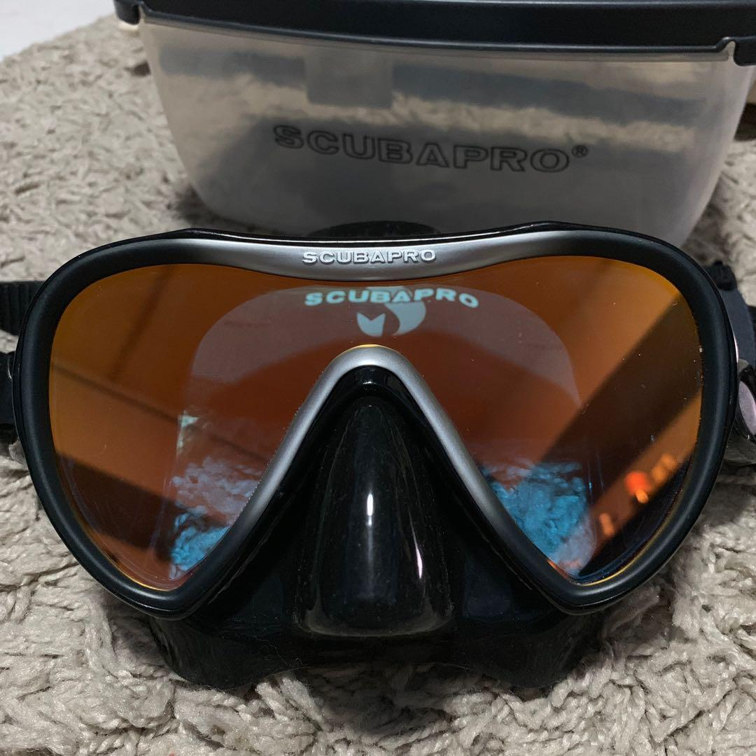 Scubapro Synergy 2 TruFit Mirrored Single Lens Mask in Silver