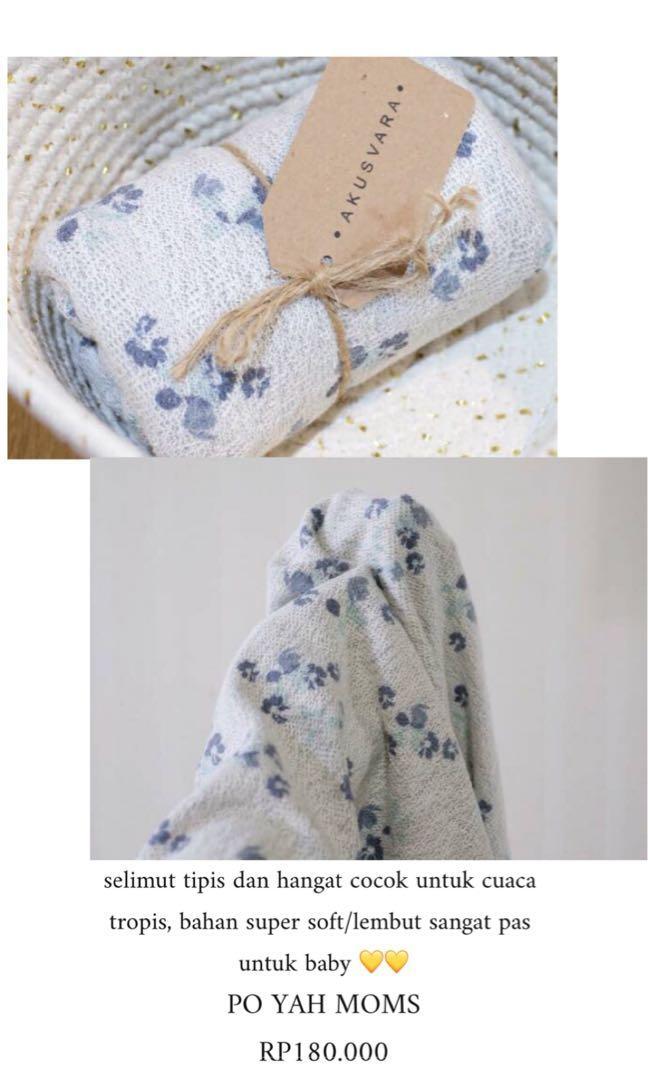 selimut bayi by akusvara blanket baby