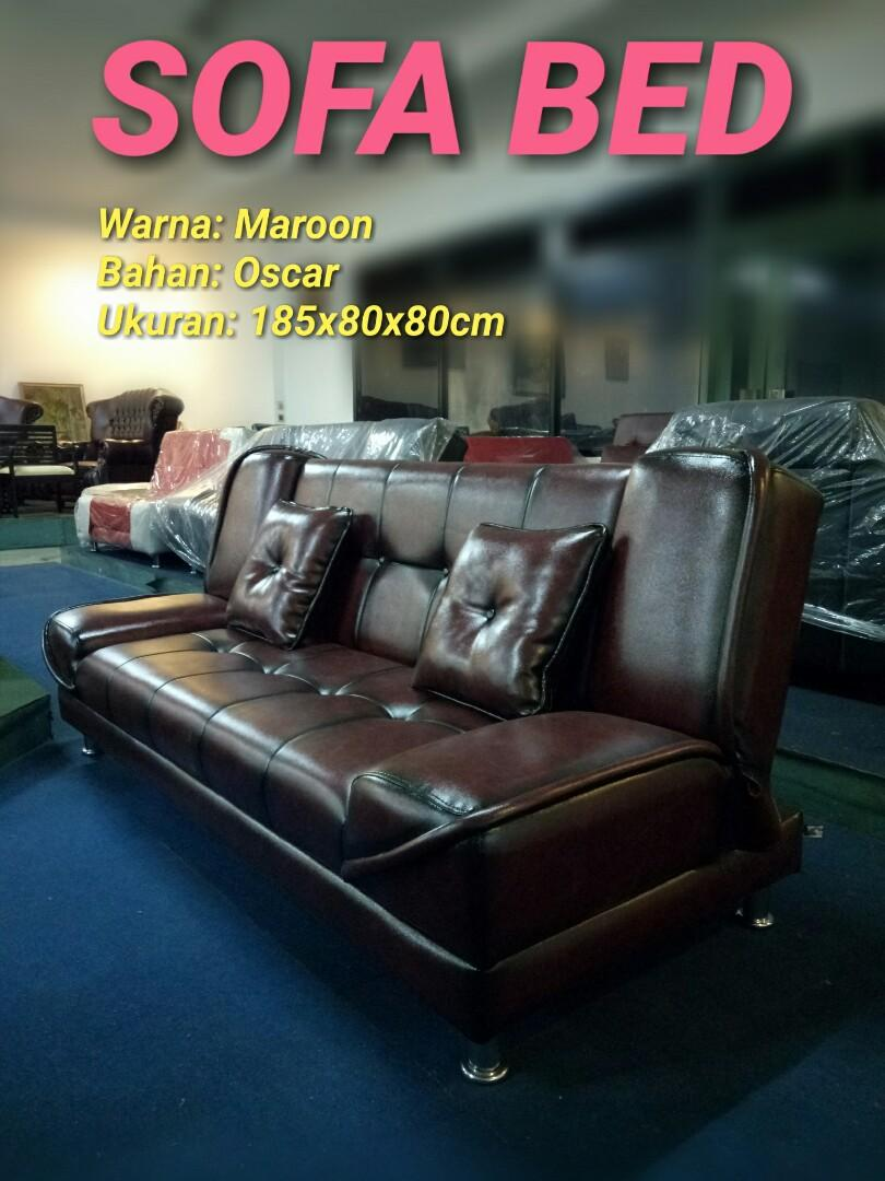 Sofa Bed / Kursi Tamu + Bantal