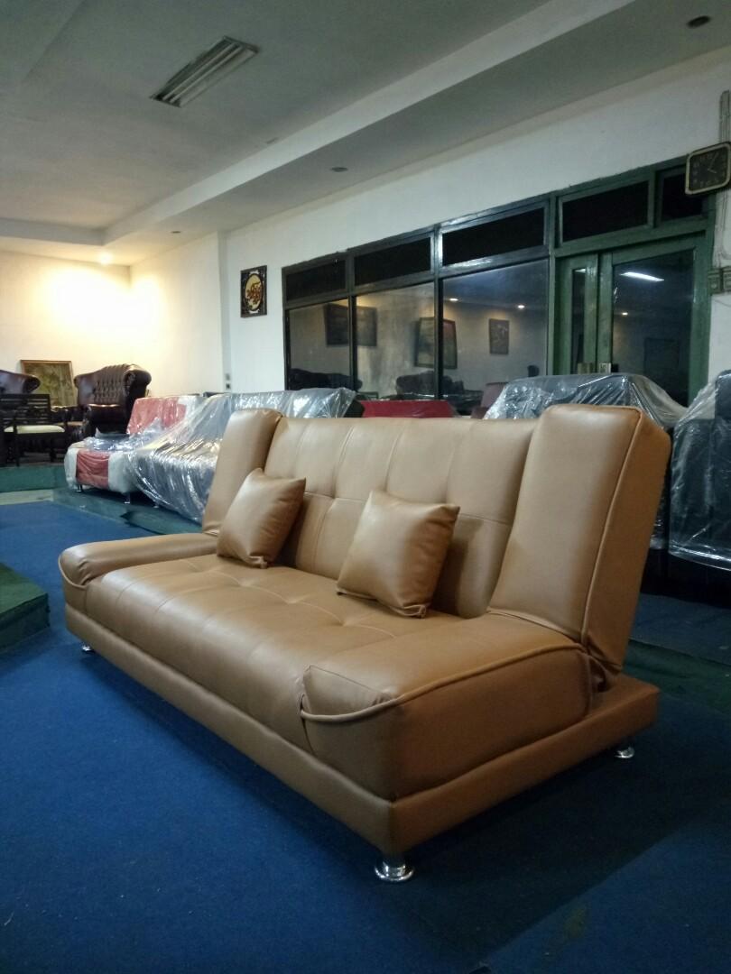Sofa Bed / Kursi Tamu ZUCCA + Bantal