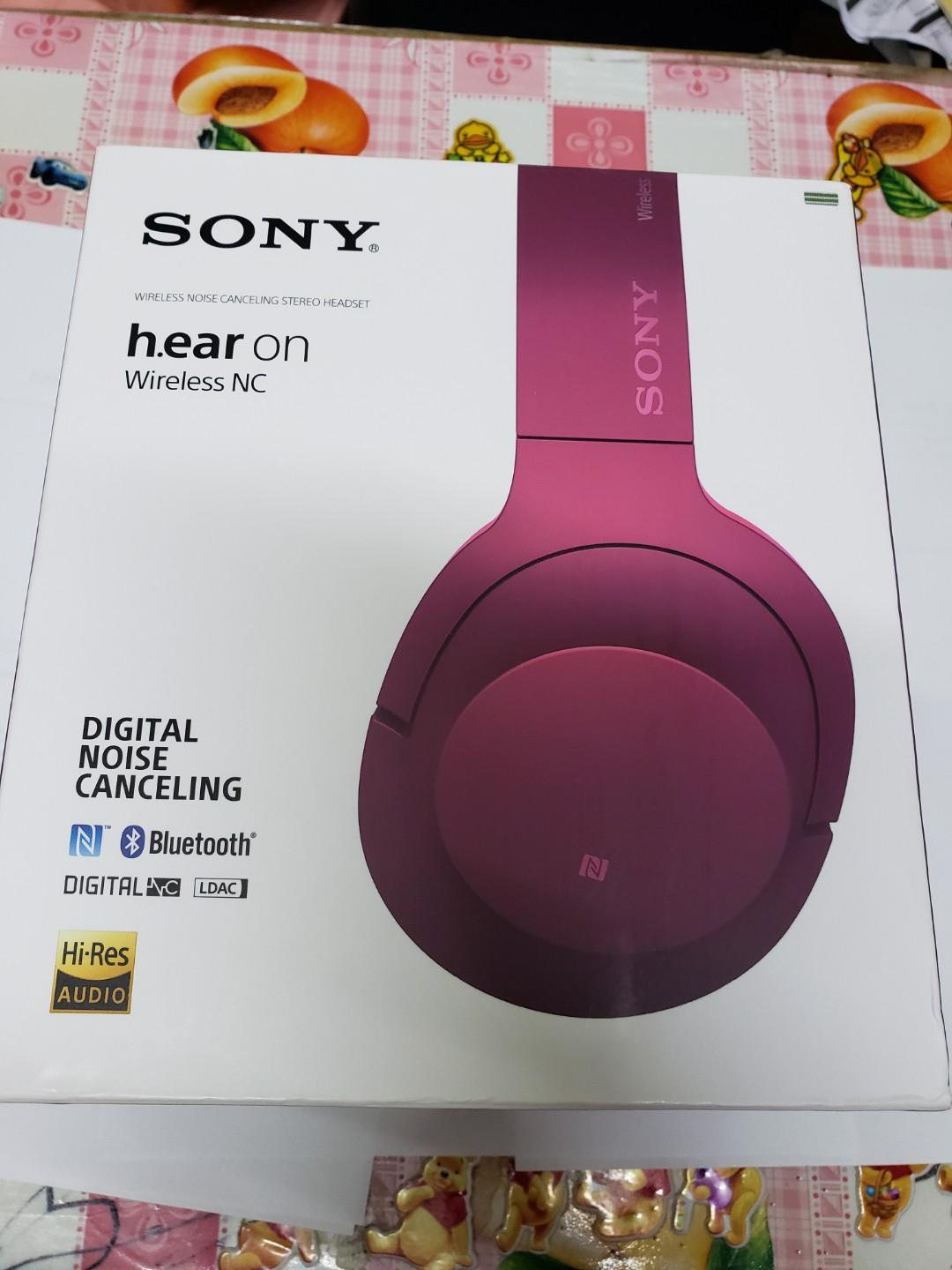 Sony h.ear in wirless NC MDR-100 AB
