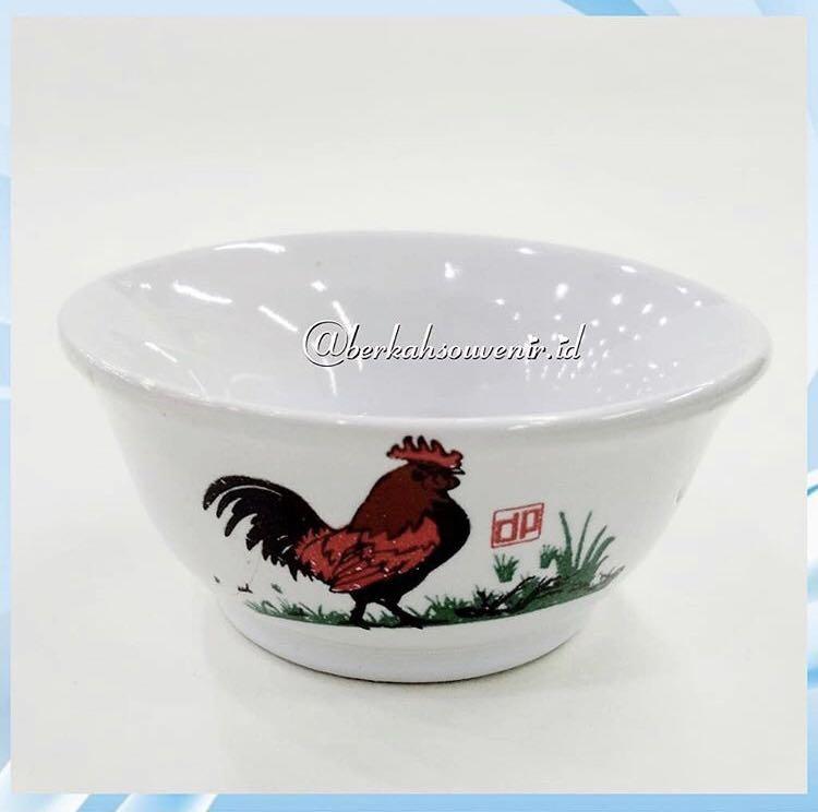 Souvenir Mangkok Ayam jago