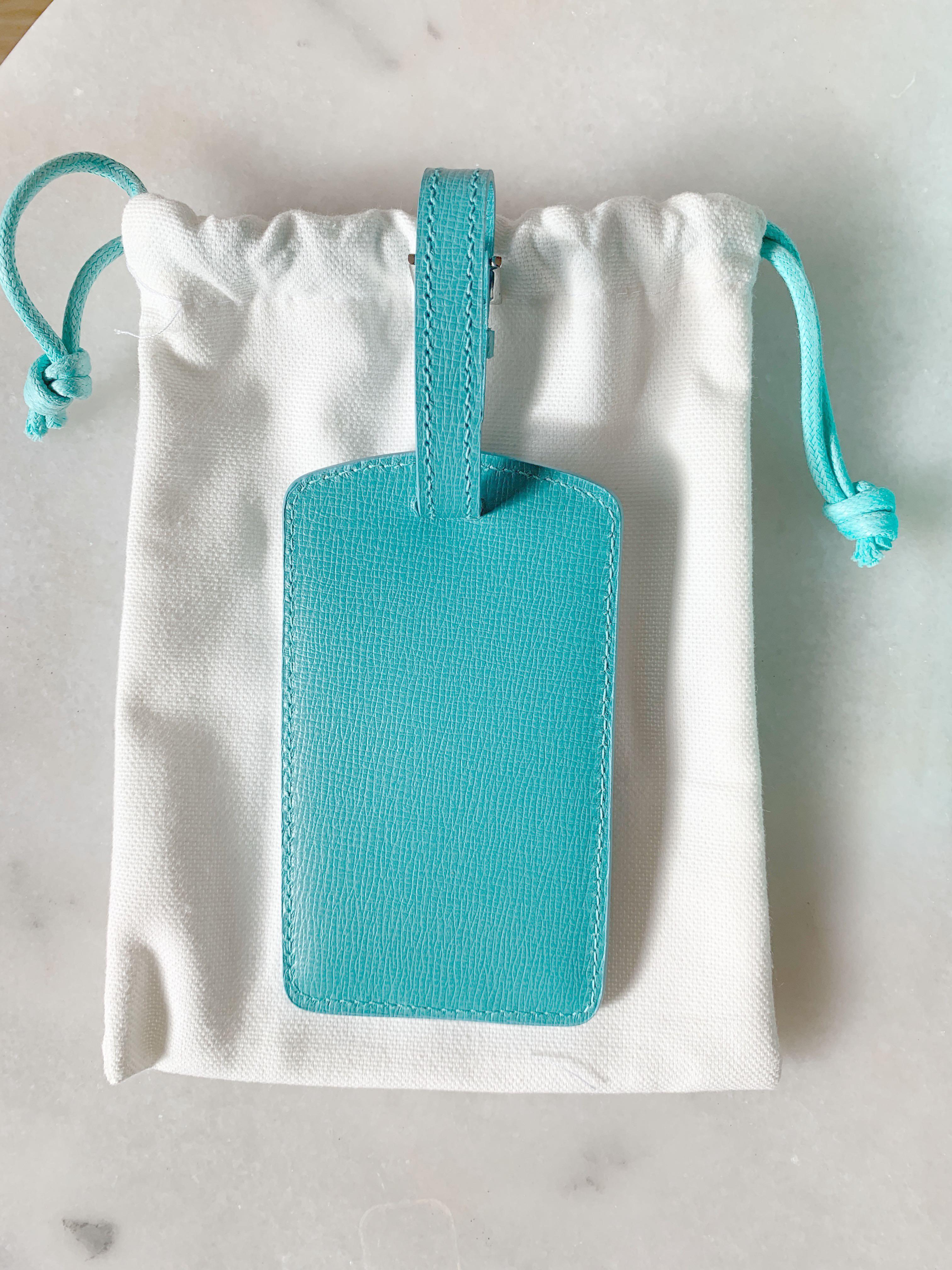 Tiffany & co luggage tag