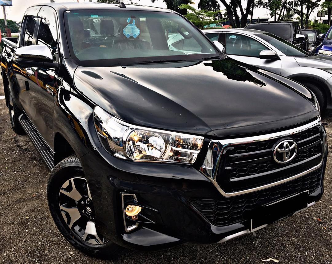 TOYOTA HILUX LIMITED EDITION 2.4 AUTO NEW FACELIFT