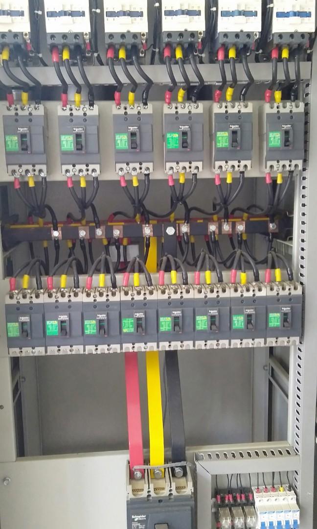 Turun Harga Panel Listrik Mdp 197kva 380v 8outgoing Cap Bank