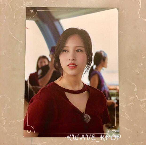 TWICE TV6 SINGAPORE -OFFICIAL POSTCARD -SELECT MEMBER