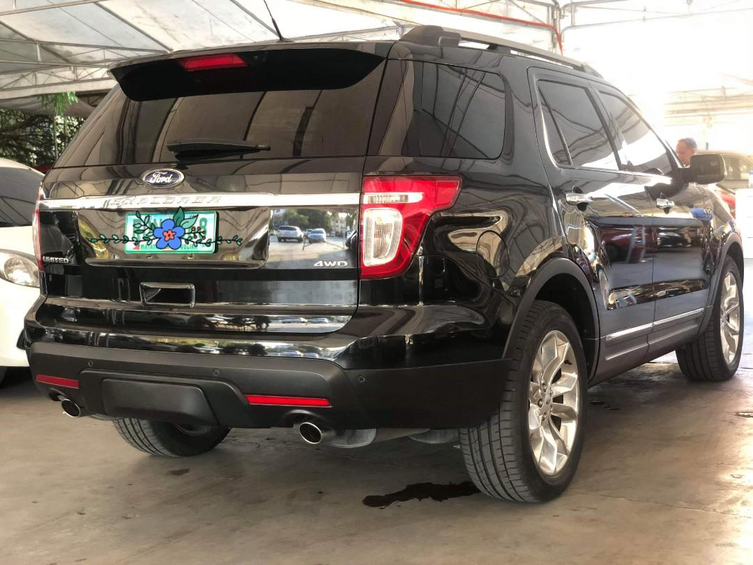 Very Good Deal 2012 Ford Explorer 3.5L 4x4 A/T Limited Top of the Line
