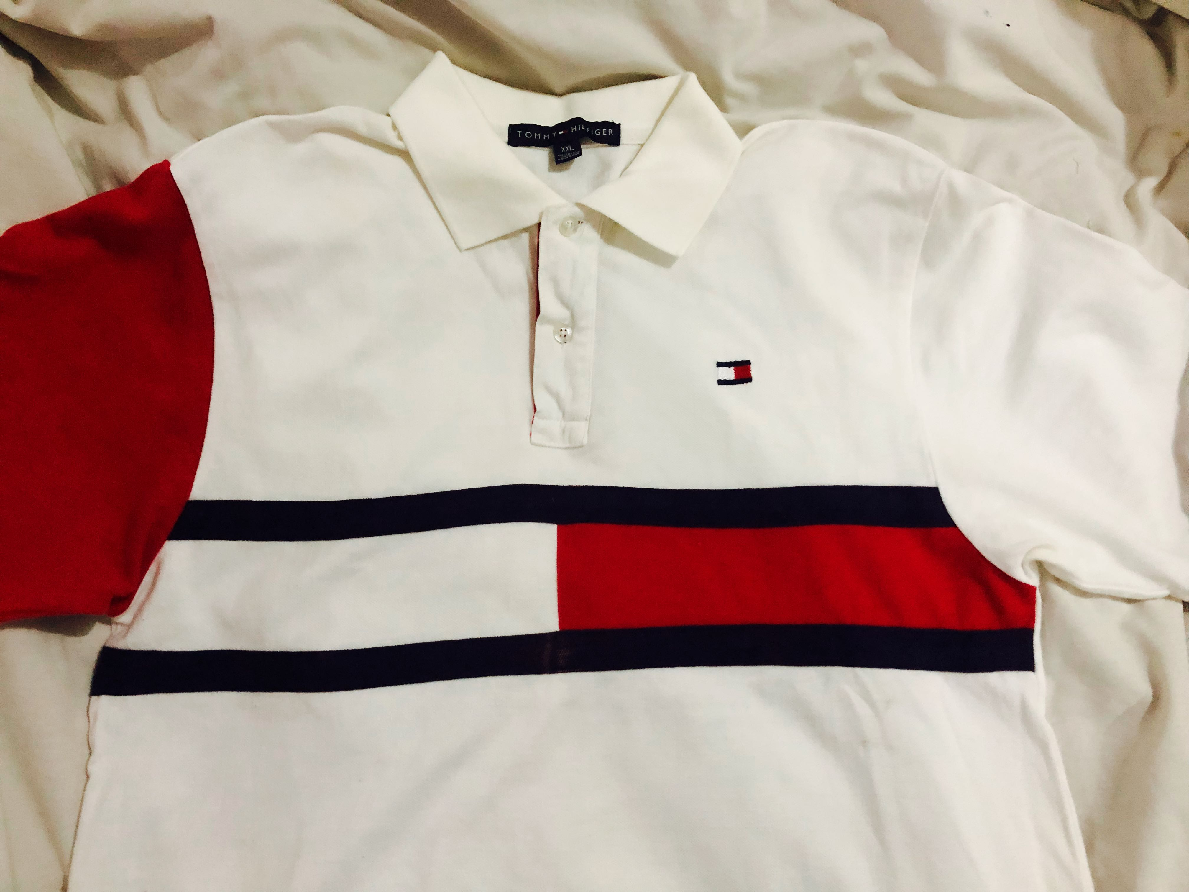 b58bcf2a673 Vintage Tommy Hilfiger Polo Tee, Men's Fashion, Clothes, Tops on Carousell