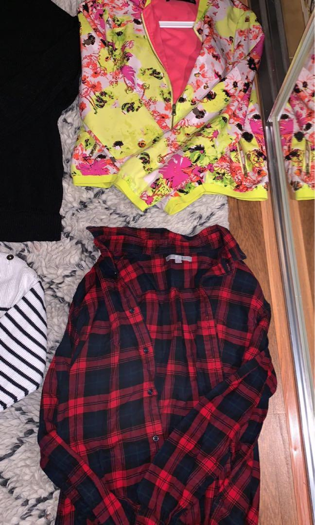 Wardrobe clear out dotti Zara jumpers and jackets $20 PICK ANY OR ALL