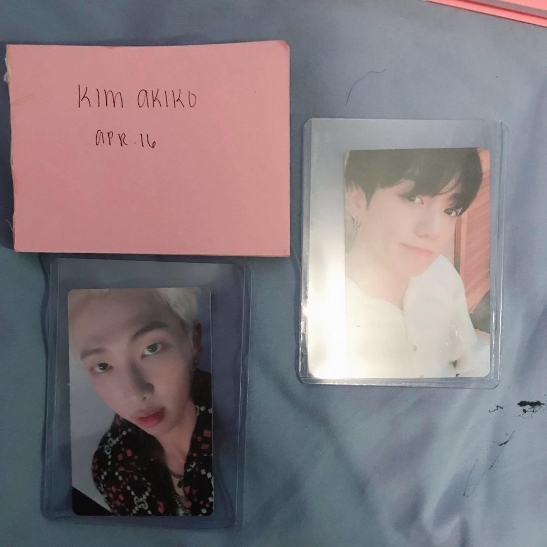 WTT/WTS BTS PERSONA AND ANSWER KPOP