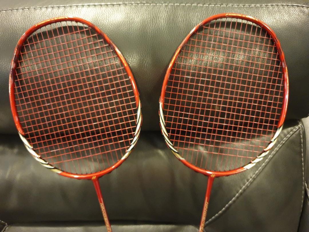 YONEX Nanospeed 9900 Badminton Rackets - Made in Japan ...