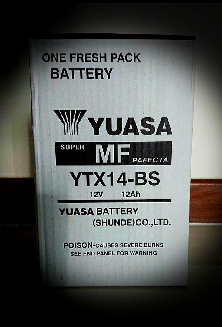 Yuasa Battery YTX14-BS