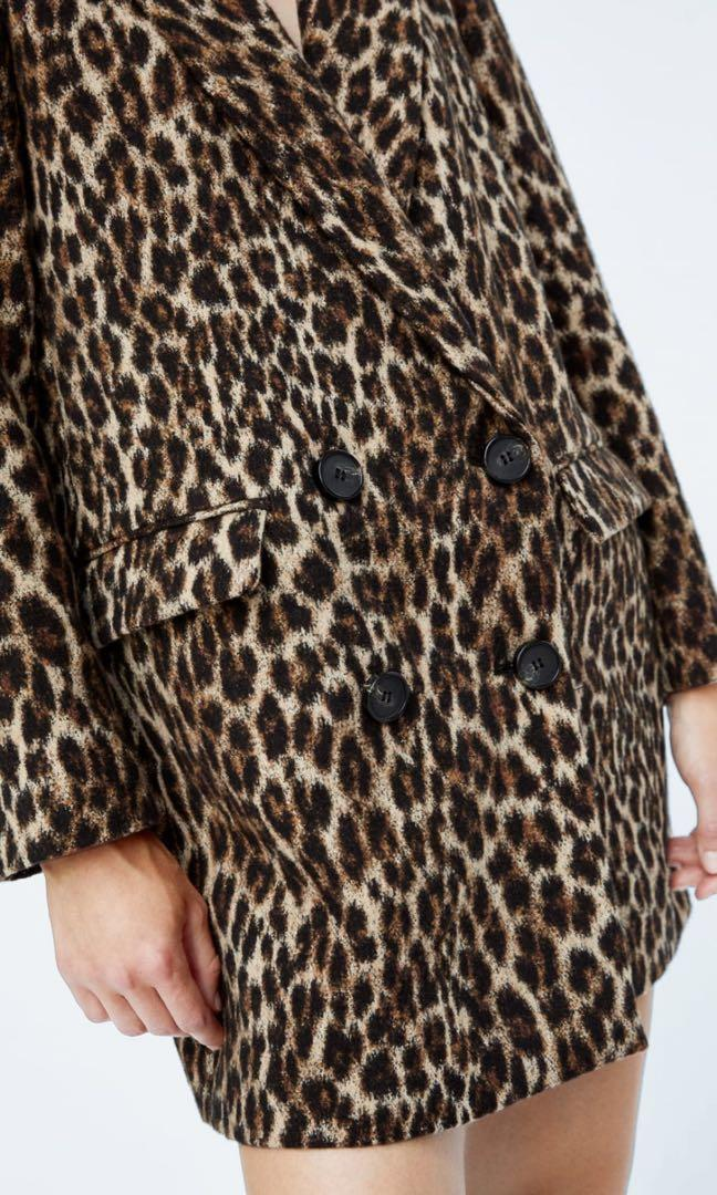 SALE!! ZARA JACQUARD COAT