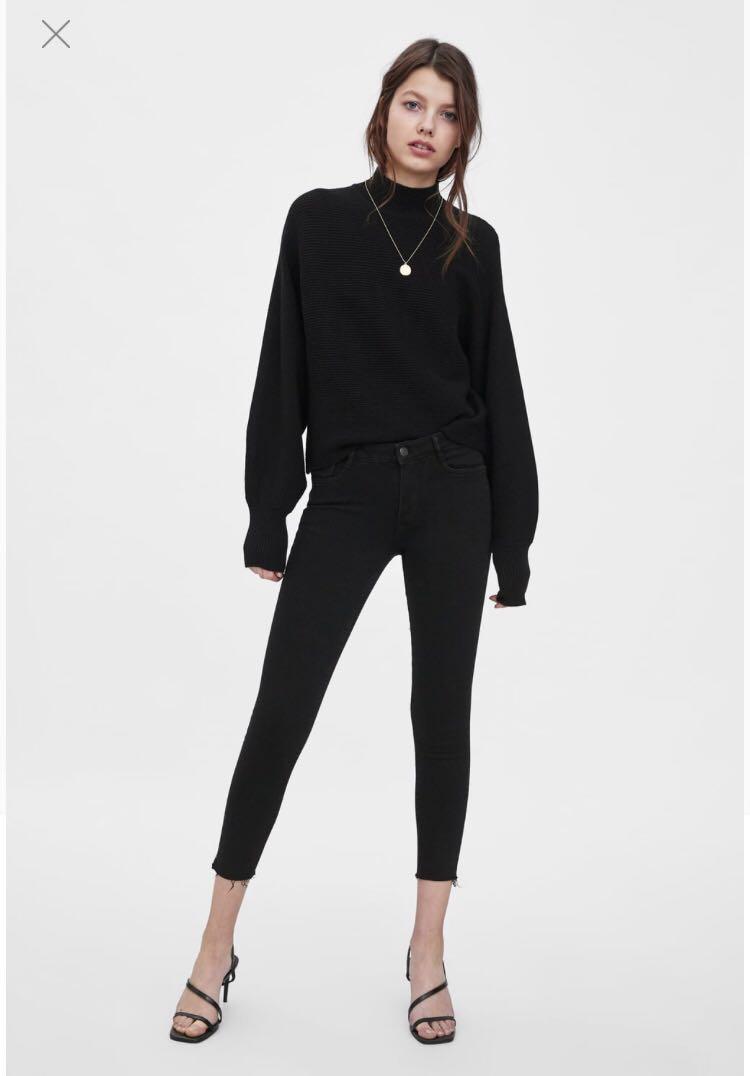 Zara mid rise skinny jeans - Brand new