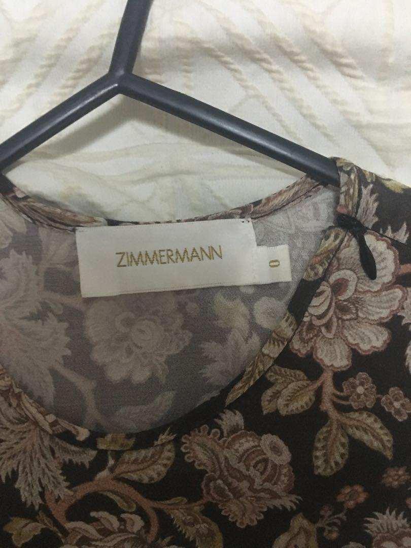 Zimmermann paisley short dress
