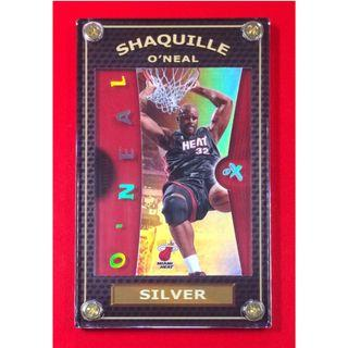 Hot 2006-07 Shaquille O'neal Rare Silver Fleer E-X NBA Card