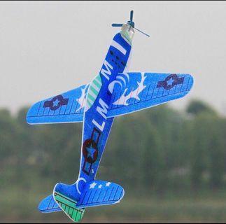 DIY airplane foam flying glider
