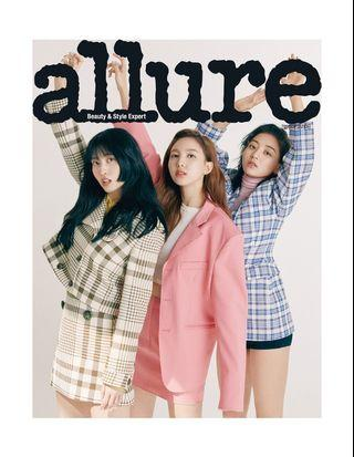 ALLURE korea 2019-05 TWICE