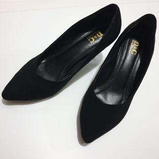 7136b0ac97 📮Free NORMAL postage ❤PreLoved Black Velvet High Heels Pumps