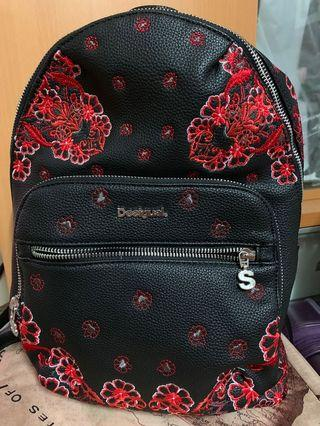 SPAIN famous brand - DESIGUAL lady backpack