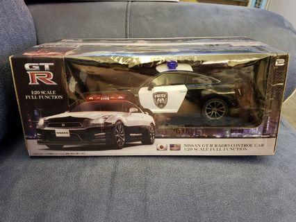 Nissan GTR Police Car 1:20 搖控車