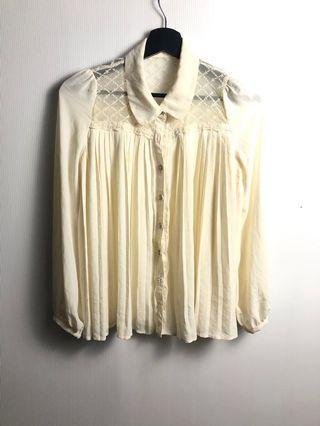 kemeja lace dress