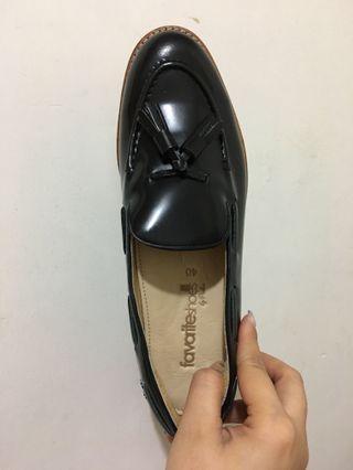 全新 100% New 真皮女裝紳士鞋 Loafer Shoes 樂福鞋