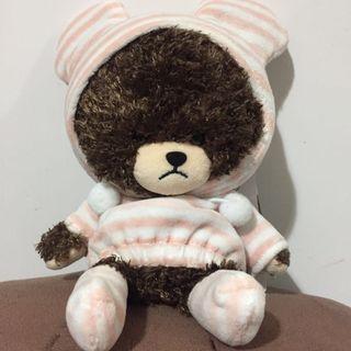 The Bears' school 小熊學校粉紅間條睡衣(已絕版)