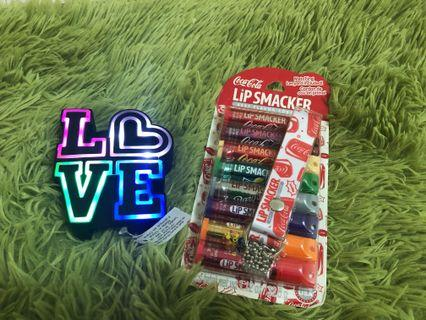 Bath and Body works Pocket bac holder and Lip Smacker