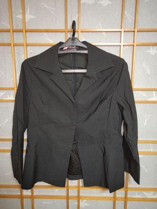 🚚 西裝長袖外套短裙套裝
