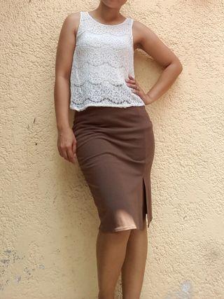 Lace Top and Bandage Skirt Bundle