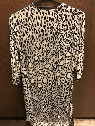 🚚 Topshop dress Leopard print