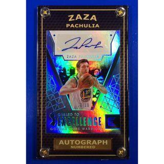 Hot 2017 Zaza Pachulia Autograph #10/10 Basketball Card