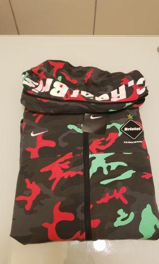 Nike FCRB Camo JACKET Size L 100%new