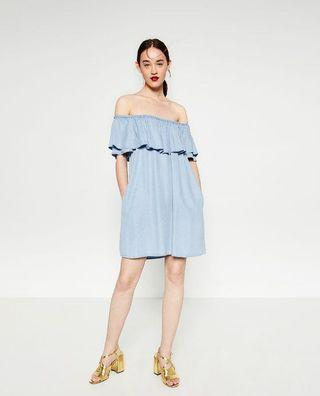 Zara Offshoulder Dress