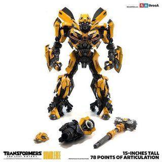 3A 變形金剛5 大黃蜂 網上特別版 three zero transformers last knight bumblebee 啡盒 exclusive