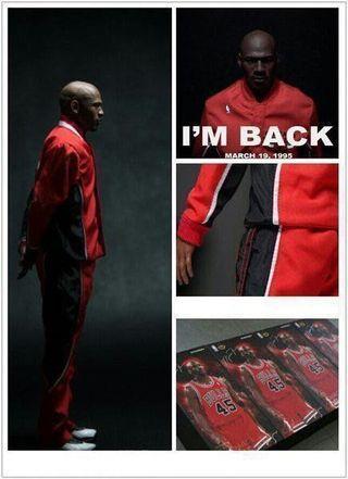 Enterbay Michael Jordan MJ Air shoes Chicago Bulls 公牛隊 # 45 球衣波鞋 figure Limited 米高佐敦人形