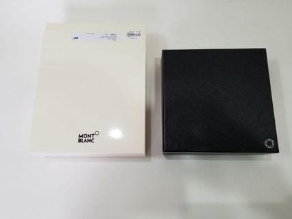 Mont Blanc wallet box