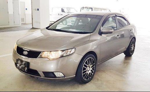 Cheap Car Rental - Kia Cerato Forte 1.6A - Grab/Gojek/Private
