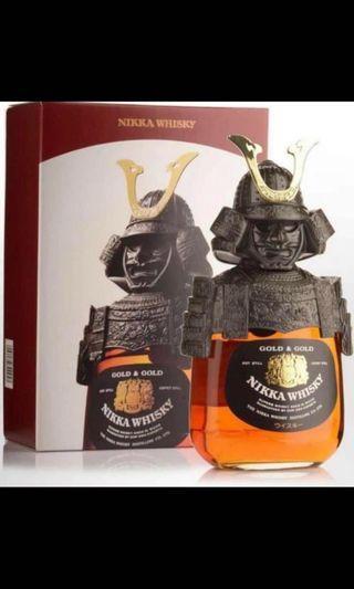 日本武士 威士忌 Gold & Gold NIKKA WHISKY