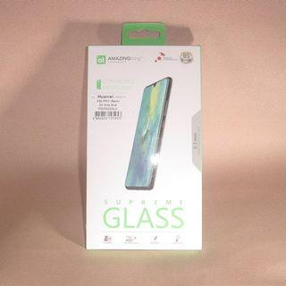 華為HUAWEI P30 Pro電話專用 香港行貨 修身版 3D 弧邊 全覆蓋 黑色邊框 鋼化玻璃保護貼