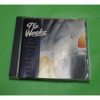 CD VARIOUS ARTISTS : 9 ½ WEEKS ORIGINAL SOUNDTRACK ALBUM (1992) DEVO EURYTHMICS